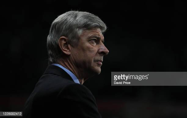 Arsene Wenger the Arsenal Manager before the UEFA Champions League group H match between Arsenal and Partizan Belgrade on December 8 2010 in London...