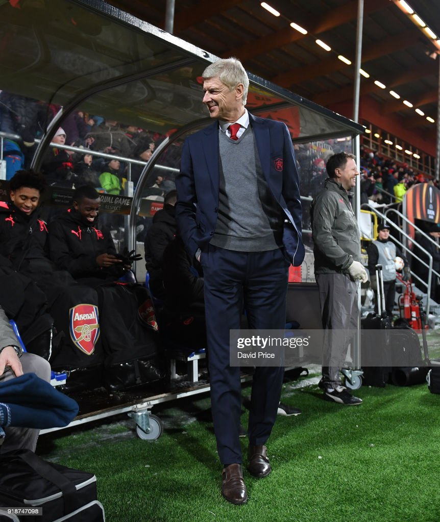 Ostersunds FK v Arsenal - UEFA Europa League : News Photo