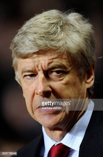 Arsene Wenger the head coach / manager of Arsenal