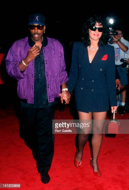Arsenio Hall and Maria Conchita Alonso at the Premiere of 'Honeymoon in Vegas' Mann Chinese Theater Hollywood