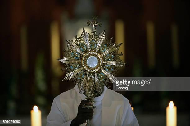 ArssurFromans SanctuaryShrine of JeanMarie Vianney Adoration of the Blessed Sacrament France