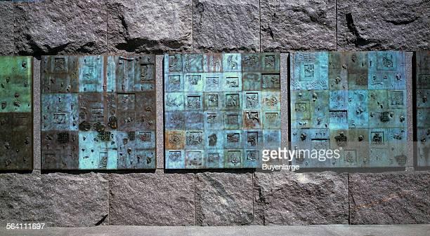 Art at the Franklin Delano Roosevelt Memorial Washington DC