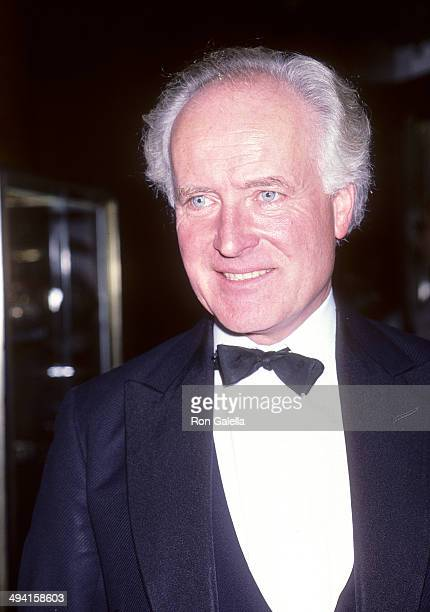 Art author Desmond Guinness attends Contessina Francesca Braschi Fashion Show and Cocktail Reception on November 14 1985 at Saks Fifth Avenue in New...