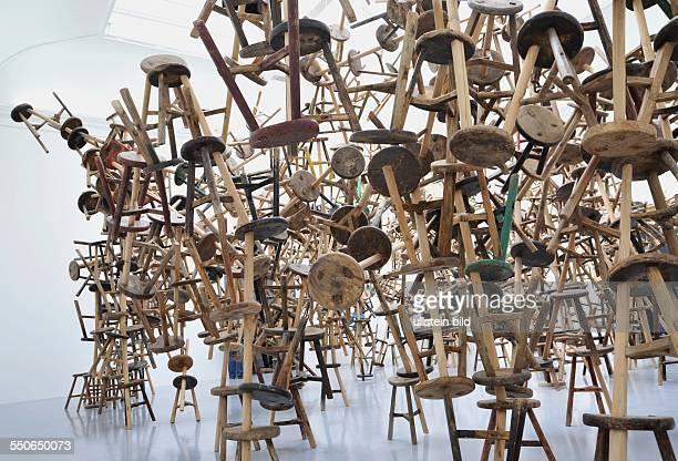 Art Biennale von 0106 bis in Venedig Italien / 55 Esposizione Internationale d'Arte La Biennale di Venezia Italy Foto Deutscher Pavillion Kunst von...