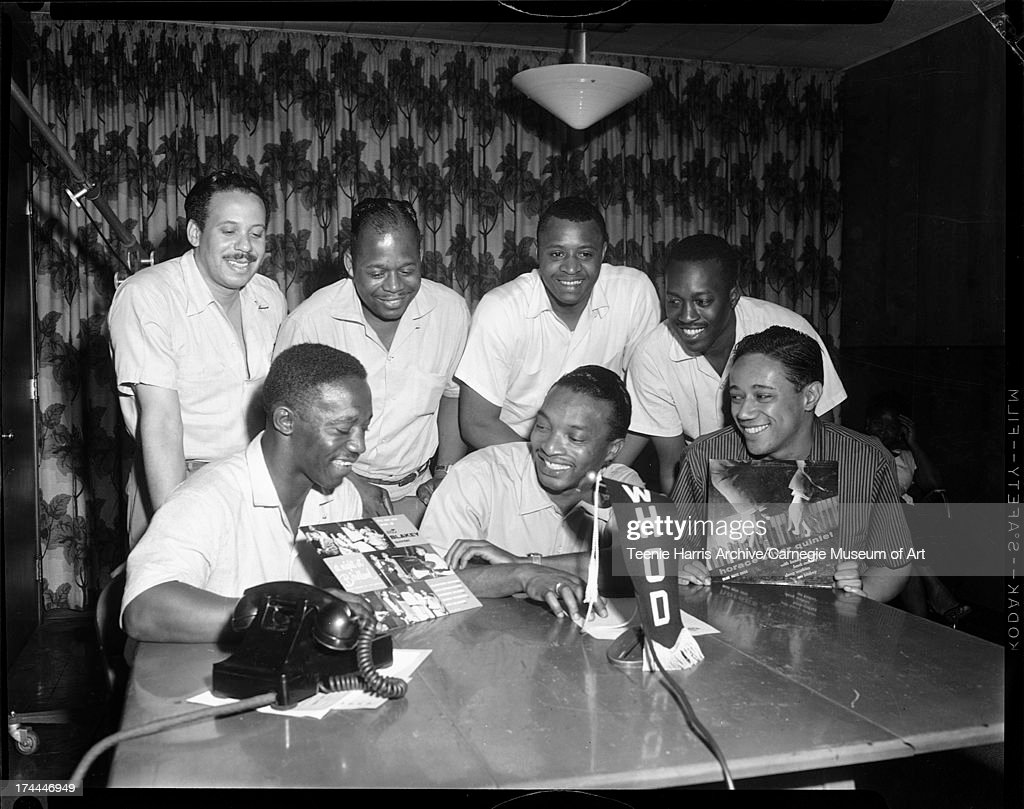 Musicians At Radio Station : News Photo
