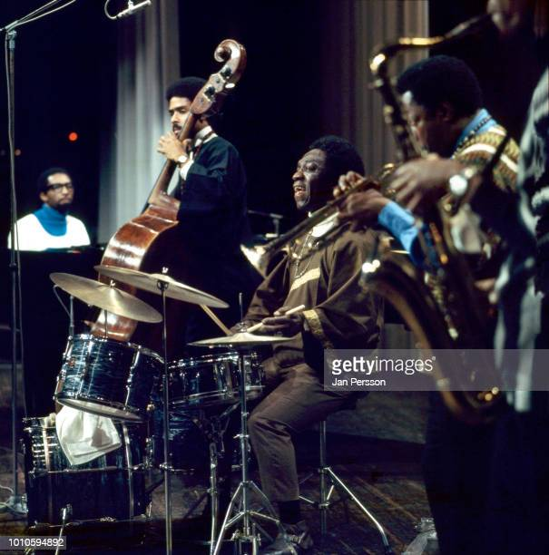 Art Blakey's Jazz Messengers Copenhagen, October 1968, with Ronnie Matthews piano, Lawrence Evans bass, Art Blakey drums, Bill Hardman trumpet and...