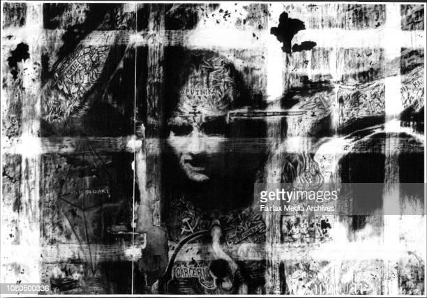 Art by Bernard SachsWorld of Ciphers92Subtle symbolism through the shadows Bernhard Sachs's World of Ciphers December 15 1992