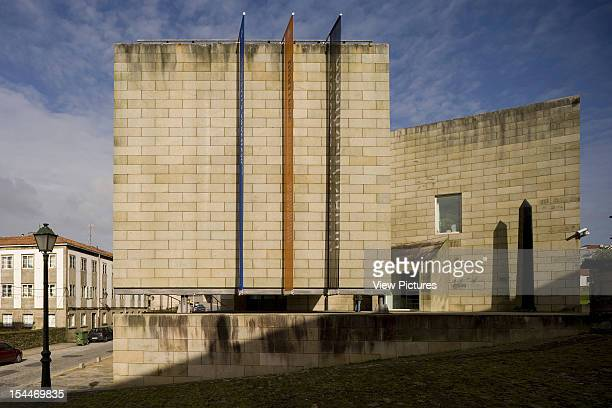 Art Centre Alvaro Siza Santiago De Compostela Spain Monumental Front Elevation Alvaro Siza Spain Architect