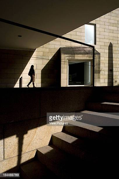 Art Centre Alvaro Siza Santiago De Compostela Spain View Of Staircase And Underpass Alvaro Siza Spain Architect