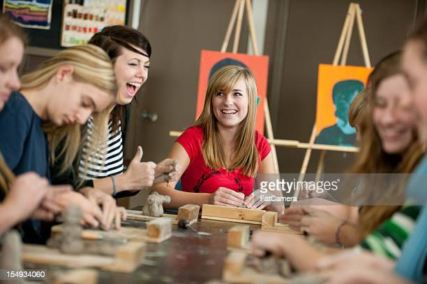 art class - art stock pictures, royalty-free photos & images