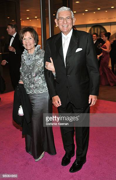 Art collector Eli Broad and wife Edythe Broad attend the MOCA NEW 30th anniversary gala held at MOCA on November 14 2009 in Los Angeles California