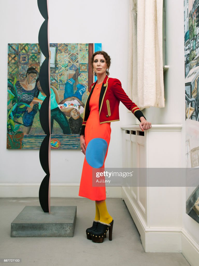 Valeria Napoleone, ES magazine UK, September 15, 2016 : News Photo