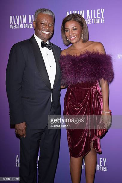 Art Collins and Sela Collins at Alvin Ailey American Dance Theater Opening Night Gala Benefit 'An Evening of Ailey and Jazz' at New York City Center...