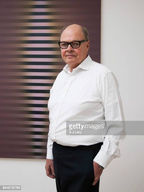 Art dealer and owner of the Lisson gallery Nicholas Logsdail is photographed for the Financial Times on June 5 2017 in London England
