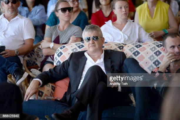 Art dealer Jay Jopling attends 'The Last Ten Years Tracey Emin in Conversation with Alastair Gordon' during Art Basel hosted by Soho Beach House in...