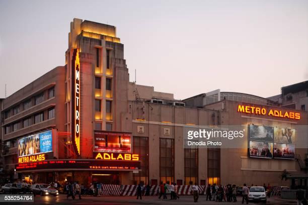 Art deco cinema in Mumbai, Maharashtra, India.