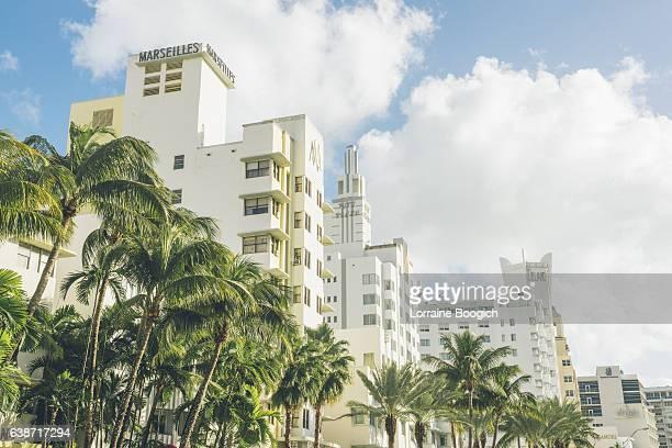 Art Deco Collins Avenue Cityscape South Beach Miami Florida