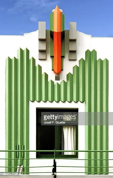 Art Deco facade in Napier