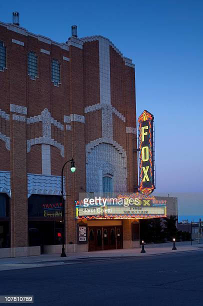 art deco fox theater - 20th century stock pictures, royalty-free photos & images