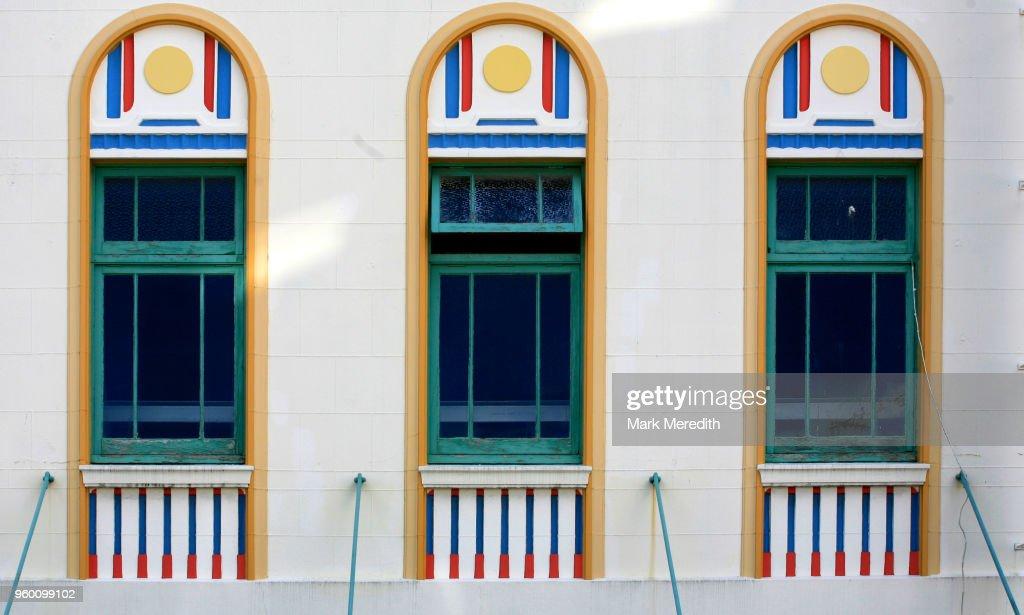 Art Deco in Napier : Stock-Foto