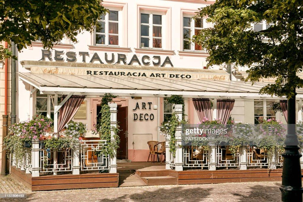 Art Deco Restaurant Stock-Foto - Getty Images
