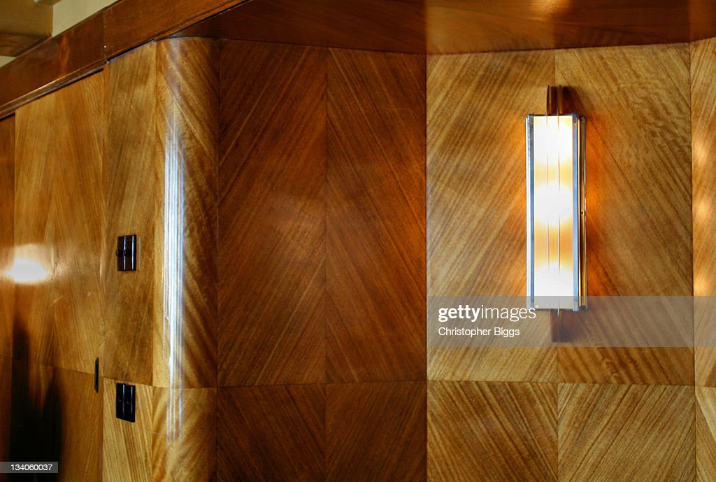 Art Deco Style Decoration In Board Room Stock Photo | Getty Images