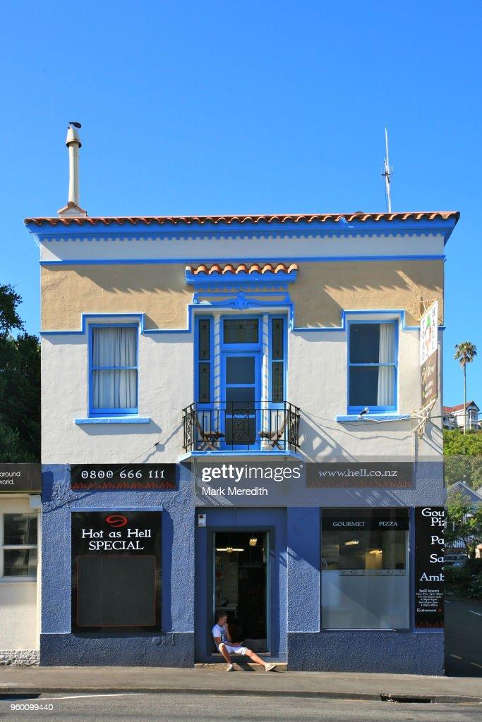 Art Deco style in Napier : Stock-Foto