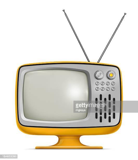 vintage de télévision - un seul objet photos et images de collection