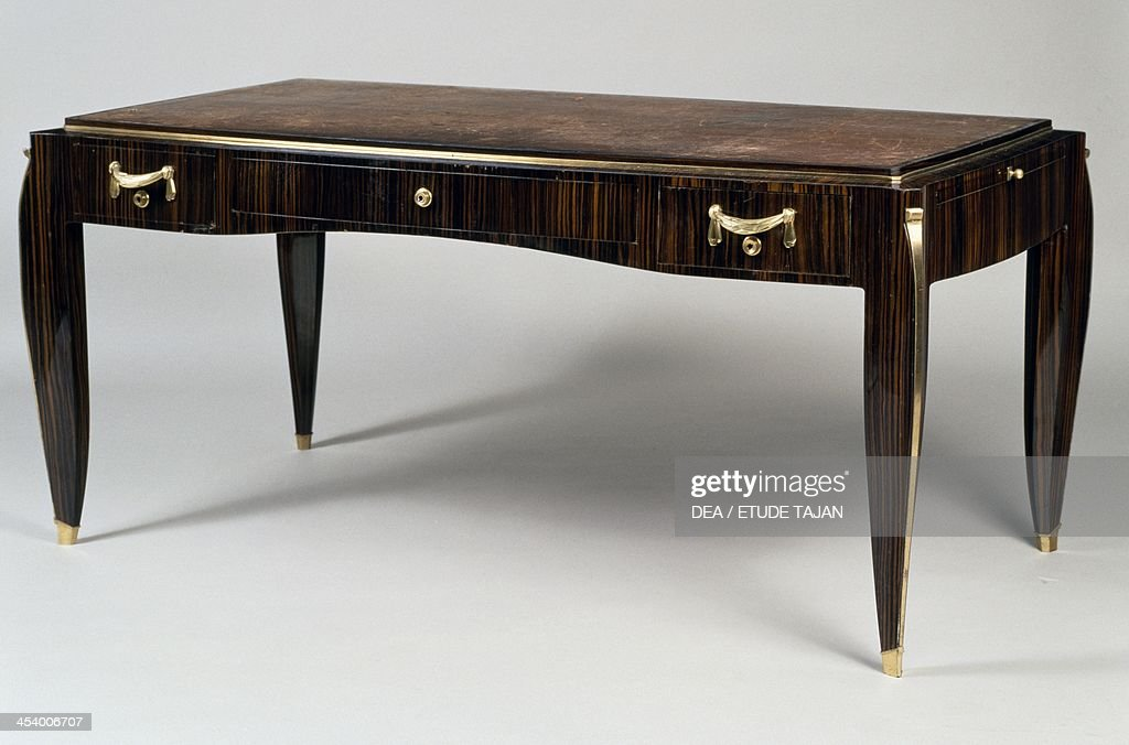 Art Deco Style Writing Desk Ambade 25 Model 1933 By Jacques Emile