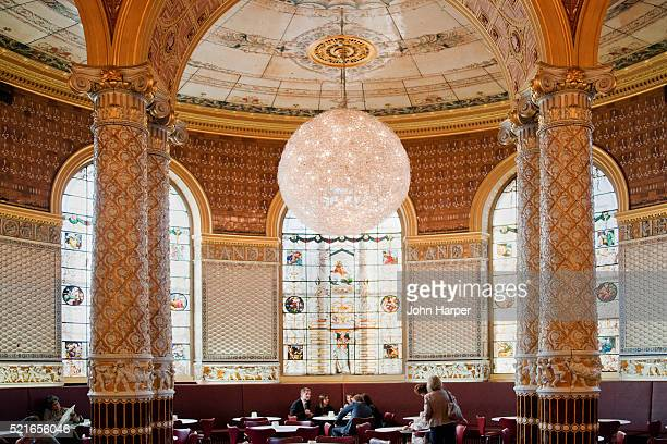 Art Deco, Tea rooms, Victoria and Albert Museum, London