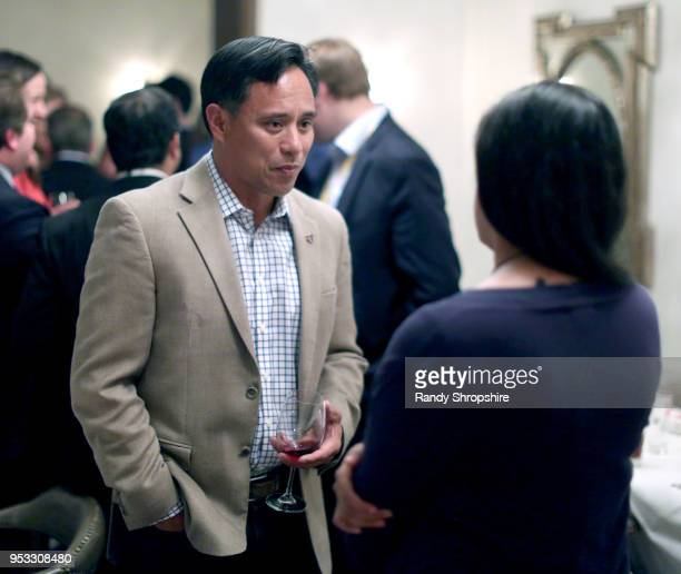 Art dela Cruz attends GLG Social Impact Dinner At Milken at Cecconi's on April 30 2018 in West Hollywood California