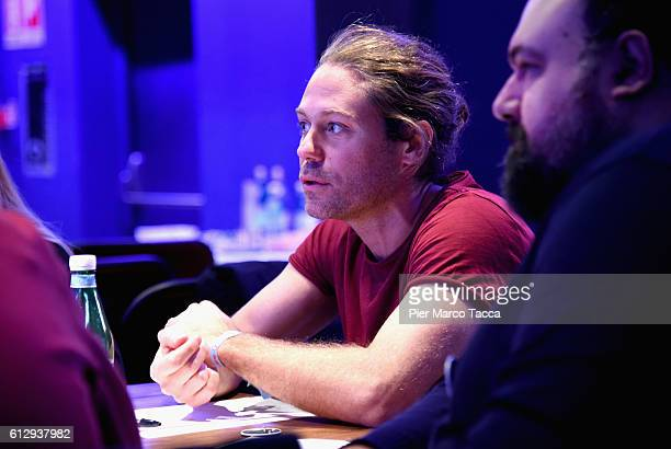 Art Director and RADIO/COPYWRITING President of jury Lorenzo Crespi attends the IF Italians Festival 2016 at Franco Parenti Theater on October 6 2016...
