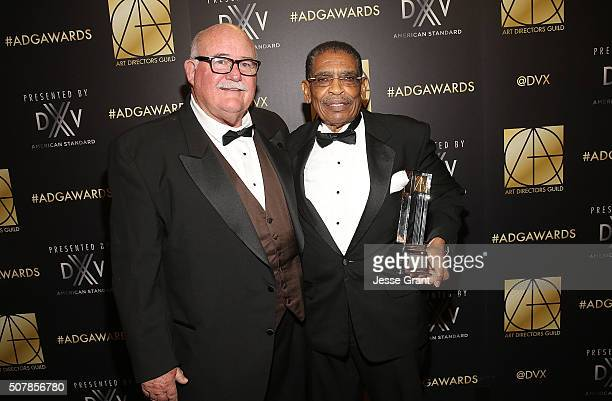 Art director Beala Neel and set designer William J Newmon II attend the Art Directors Guild 20th Annual Excellence In Production Awards at The...