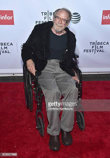 Art director David Nichols attends the 'Taxi Driver' 40th Anniversary Celebration during the 2016 Tribeca Film Festival at The Beacon Theatre on...