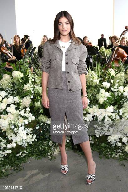 Art director Julia Restoin Roitfeld attends the Calvin Luo front Row during New York Fashion Week The Shows at Gallery I at Spring Studios on...