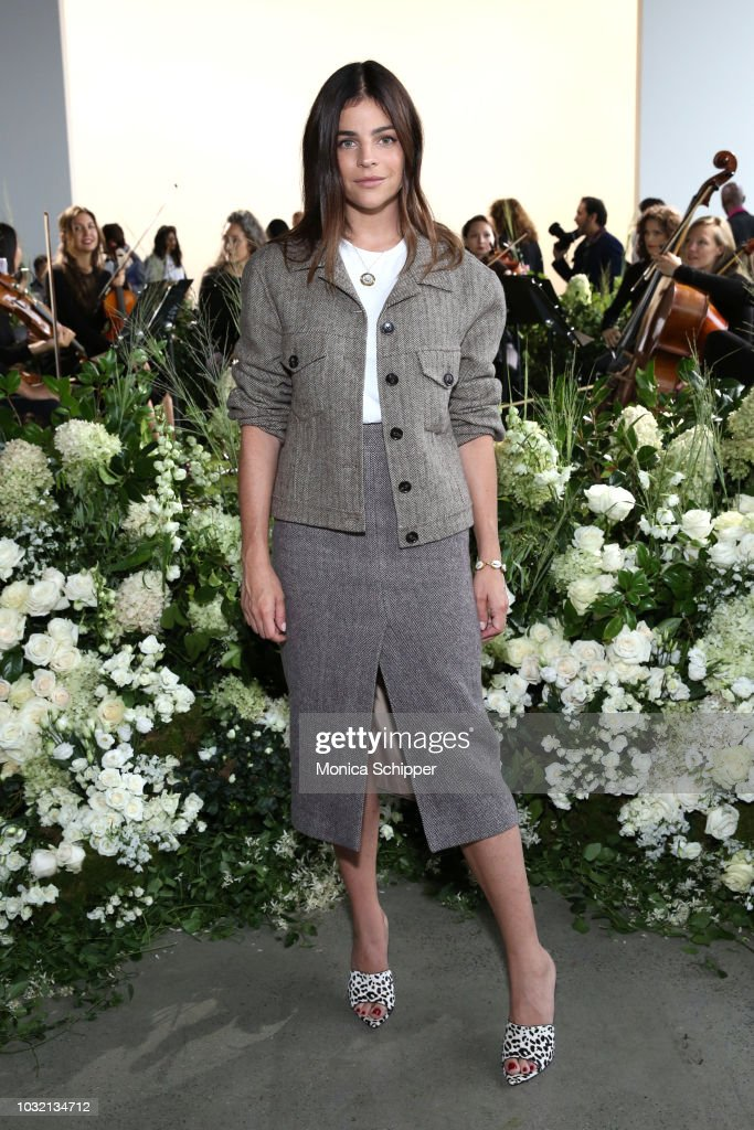 Art director Julia Restoin Roitfeld attends the Calvin Luo front Row during New York Fashion Week: The Shows at Gallery I at Spring Studios on September 12, 2018 in New York City.