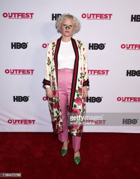 Art director Melinda GorhamRodrigues arrives at the 2019 Outfest Los Angeles LGBTQ Film Festival Screening of Gay Chrous Deep South at the Ford...