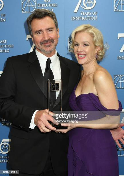 Art Director Tom Reta received the award for Excellence in a Production Design for a Feature Film Contemporary Film 'Girl with the Dragon Tattoo' and...