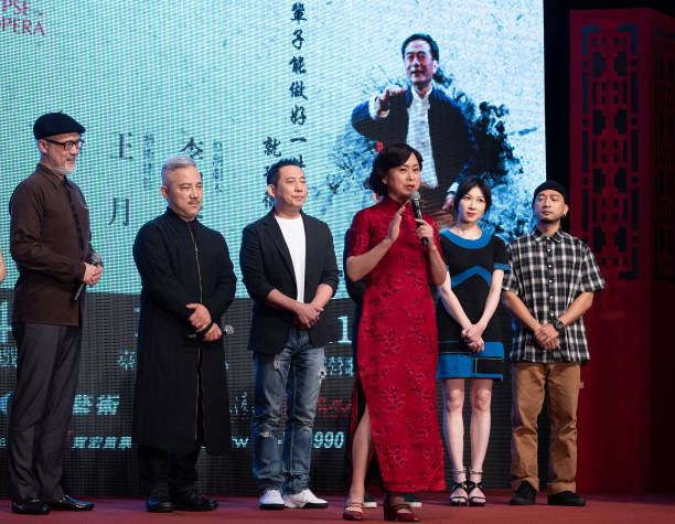 TWN: 2021 'Apocalypse of Beijing Opera' Press Conference In Taipei