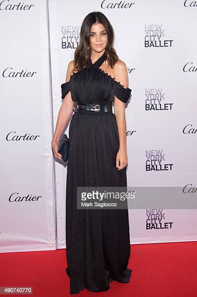 Art Director/Model Julia Restoin Roitfeld attends the 2015 New York City Ballet Fall Gala at the David H Koch Theater at Lincoln Center on September...