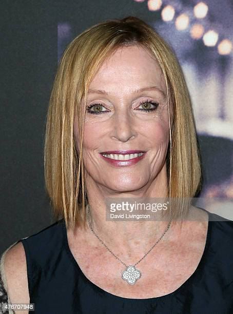 Art director/photographer Edie Baskin attends the premiere of Abramorama's Live from New York at the Landmark Theatre on June 10 2015 in Los Angeles...