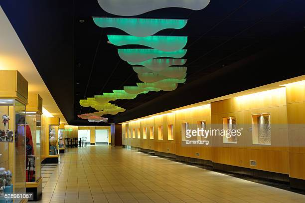 Art display at Anchorage International Airport