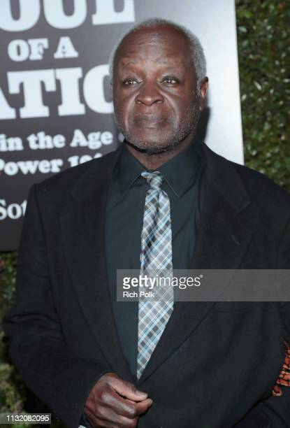 Art Evans attends The Broad Museum celebration for the opening of Soul Of A Nation Art in the Age of Black Power 19631983 Art Exhibition at The Broad...