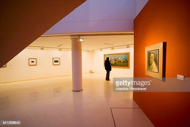 art exhibit at instituto valenciano de arte moderno - moderno ストックフォトと画像