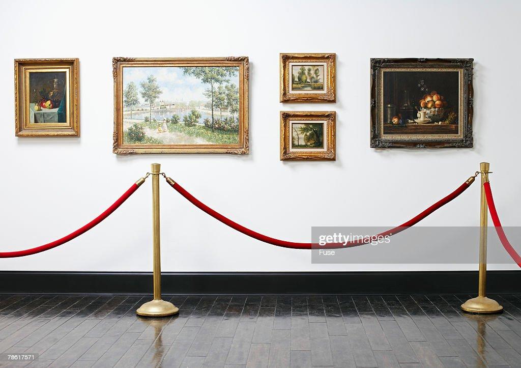 Art Exhibition : Stock Photo