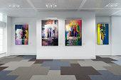 Art Exibition Lot - 3d visualization