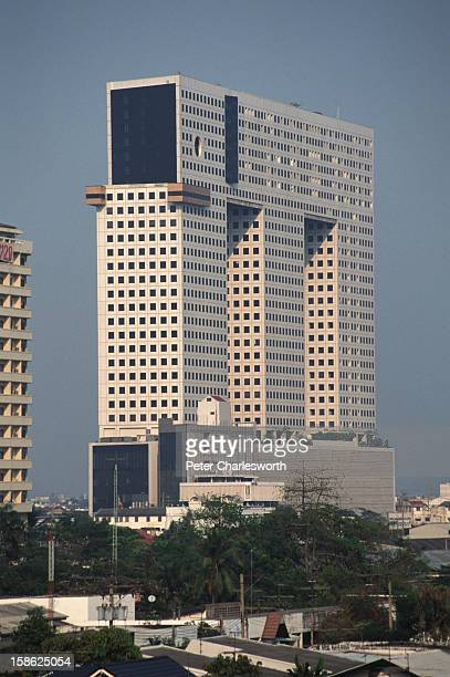 Art, eyesore or architect's folly? The Elephant Building in Bangkok consists of three towers - the back and front legs of an elephant and a trunk...