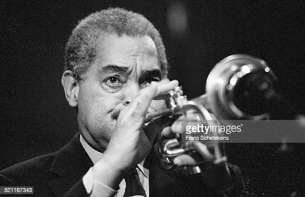 Art Farmer, trumpet, performs at BIM huis on February 13th 1997 in Amsterdam, Netherlands.