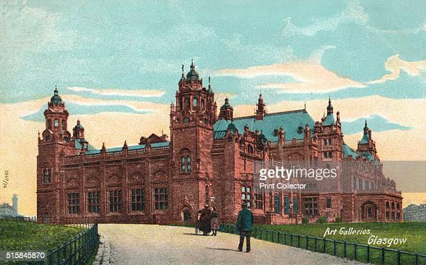 Art Galleries Glasgow' circa 1904 The Kelvingrove Art Gallery and Museum Glasgow The construction of Kelvingrove was partly financed by the proceeds...