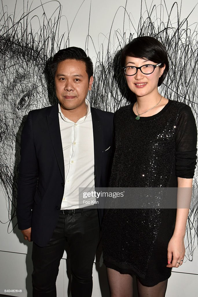 Hom Nguyen Exhibition Preview at Espace YoYo Palais de Tokyo : News Photo